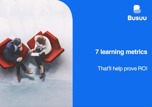 7 learning metrics