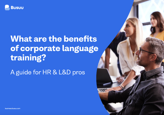 Benefits of corporate language learning